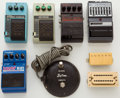 Musical Instruments:Amplifiers, PA, & Effects, Vintage Effects Pedal Lot: Ibanez, Digitech, DOD, Kustom, Etc. ...(Total: 8 Items)