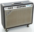 Musical Instruments:Amplifiers, PA, & Effects, 1970's Fender Vibrolux Reverb Silverface Guitar Amplifier, Serial#A25137....