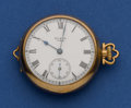 Timepieces:Pocket (post 1900), Elgin Running O Size. ...
