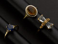 Estate Jewelry:Rings, Three Antique Gold Rings. ... (Total: 3 Items)