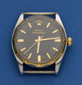 Timepieces:Wristwatch, Rolex Ref. 6566 Steel & Gold Oyster Perpetual For Restoration,circa 1955. ...