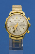 Timepieces:Wristwatch, Wakmann Triple Calendar Chronograph For Restoration. ...