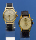 Timepieces:Wristwatch, Two Vulcain Cricket Alarms For Restoration. ... (Total: 2 Items)