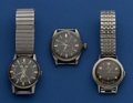 Timepieces:Wristwatch, Tudor, Zodiac & Omega For Restoration. ... (Total: 3 Items)