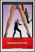 "Movie Posters:James Bond, For Your Eyes Only & Other Lot (United Artists, 1981). OneSheets (2) (27"" X 41""). James Bond.. ... (Total: 2 Items)"