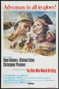 "Movie Posters:Adventure, The Man Who Would Be King and Other Lot (Allied Artists, 1975). OneSheet (27"" X 41"" ) and British One Sheet (27"" X 40""). Ad... (Total:2 Items)"
