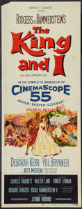 """Movie Posters:Musical, The King and I (20th Century Fox, 1956). Insert (14"""" X 36""""). Musical.. ..."""