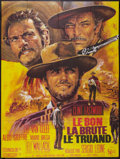 """Movie Posters:Western, The Good, the Bad and the Ugly (United Artists, R-1975). French Grande (47"""" X 63""""). Western.. ..."""