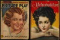 Movie Posters:Miscellaneous, Picture Play and Metropolitan Magazines (Street and Smith, April,1931 and New Metropolitan Fiction, June, 1923). Magazines ...(Total: 2 Items)