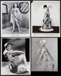 "Movie Posters:Sexploitation, Pin-Up Lot (Various, 1952-1960). Photos (4) (8"" X 10"").Sexploitation.. ... (Total: 4 Items)"