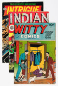 Golden Age (1938-1955):Miscellaneous, Comic Books - Assorted Golden Age Comics Group (Various, 1940s-'50s) Condition: Average VG.... (Total: 11 Comic Books)