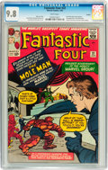 Silver Age (1956-1969):Superhero, Fantastic Four #22 Curator pedigree (Marvel, 1964) CGC NM/MT 9.8White pages....