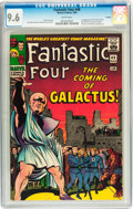 Silver Age (1956-1969):Superhero, Fantastic Four #48 Curator pedigree (Marvel, 1966) CGC NM+ 9.6White pages....