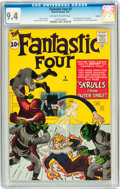 Silver Age (1956-1969):Superhero, Fantastic Four #2 Curator pedigree (Marvel, 1962) CGC NM 9.4 Off-white to white pages....