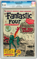 Silver Age (1956-1969):Superhero, Fantastic Four #13 Curator pedigree (Marvel, 1963) CGC NM 9.4 Whitepages....