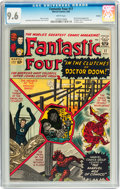 Silver Age (1956-1969):Superhero, Fantastic Four #17 Curator pedigree (Marvel, 1963) CGC NM+ 9.6White pages....
