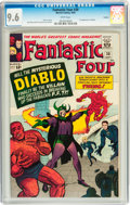 Silver Age (1956-1969):Superhero, Fantastic Four #30 Curator pedigree (Marvel, 1964) CGC NM+ 9.6White pages....