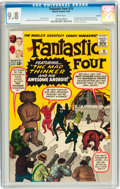 Silver Age (1956-1969):Superhero, Fantastic Four #15 Curator pedigree (Marvel, 1963) CGC NM/MT 9.8White pages....