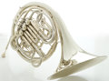Musical Instruments:Horns & Wind Instruments, Holton H177 Silver French Horn, Serial #655132....
