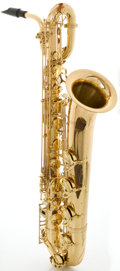 Musical Instruments:Horns & Wind Instruments, Accent BS710L Brass Baritone Saxophone, Serial #SB4091202....