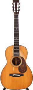Musical Instruments:Acoustic Guitars, 1930 Martin 00-42 Natural Acoustic Guitar, Serial # 44175....