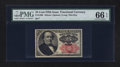 Fractional Currency:Fifth Issue, Fr. 1308 25¢ Fifth Issue PMG Gem Uncirculated 66 EPQ.. ...
