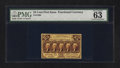 Fractional Currency:First Issue, Fr. 1280 25¢ First Issue PMG Choice Uncirculated 63.. ...