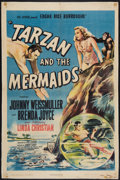 "Movie Posters:Adventure, Tarzan and the Mermaids & Other Lot (RKO, 1948). One Sheet (27""X 41"") & Argentinean Poster (29.25"" X 43.25""). Adventure.. ...(Total: 2 Items)"