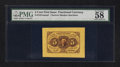 Fractional Currency:First Issue, Fr. 1231SP 5¢ First Issue Wide Margin Face PMG Choice About Unc 58.. ...