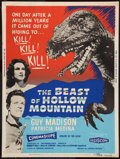 "Movie Posters:Science Fiction, The Beast of Hollow Mountain (United Artists, 1956). Poster (30"" X40""). Science Fiction.. ..."
