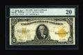 Large Size:Gold Certificates, Fr. 1173* $10 1922 Gold Certificate Star PMG Very Fine 20....