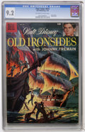Silver Age (1956-1969):Adventure, Four Color #874 Old Ironsides (Dell, 1958) CGC NM- 9.2 Off-white to white pages....