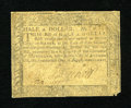 Colonial Notes:Maryland, Maryland August 14, 1776 $1/2 Fine....