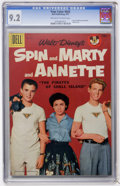 Silver Age (1956-1969):Adventure, Four Color #826 Spin and Marty and Annette (Dell, 1957) CGC NM- 9.2 Off-white to white pages....