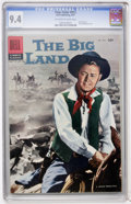 Silver Age (1956-1969):Western, Four Color #812 The Big Land (Dell, 1957) CGC NM 9.4 Off-white to white pages....