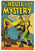 Golden Age (1938-1955):Horror, House of Mystery #10 (DC, 1953) Condition: VG....