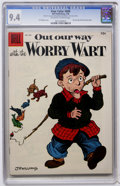Silver Age (1956-1969):Humor, Four Color #680 Out Our Way With the Worry Wart (Dell, 1956) CGC NM 9.4 Off-white to white pages....