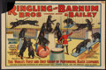 """Movie Posters:Miscellaneous, Circus Poster (Ringling Brothers and Barnum & Bailey, 1938). Poster (28"""" X 42""""). Miscellaneous.. ..."""