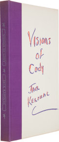 Books:Signed Editions, Jack Kerouac. Excerpts From Visions of Cody. [New York: New Directions, 1960]....