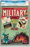 Golden Age (1938-1955):War, Military Comics #3 Billy Wright pedigree (Quality, 1941) CGC NM 9.4 White pages....