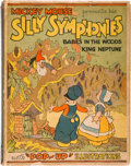 "Books:Children's Books, [Walt Disney Studios]. The ""Pop-Up"" Silly Symphonies ContainingBabes in the Woods and King Neptune. New York: B..."