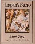 Books:Literature 1900-up, Zane Grey. Tappan's Burro and Other Stories. New York andLondon: Harper & Brothers Publishers, 1923. First edit...