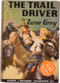 Books:Literature 1900-up, Zane Grey. The Trail Driver. New York and London: Harper& Brothers, 1936. First edition. Octavo. 302 pages. Pub...