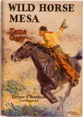 Books:Literature 1900-up, Zane Grey. Wild Horse Mesa. New York and London: Harper& Brothers, 1928. First edition. Octavo. 365 pages. Publ...