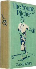 Books:Literature 1900-up, Zane Grey. The Young Pitcher. New York and London: Harper& Brothers Publishers, 1911. First edition. Octavo. 24...