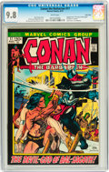 Bronze Age (1970-1979):Adventure, Conan the Barbarian #17 Twin Cities pedigree (Marvel, 1972) CGC NM/MT 9.8 White pages....