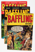 Golden Age (1938-1955):Horror, Baffling Mysteries Group (Ace, 1953-55).... (Total: 8 Comic Books)