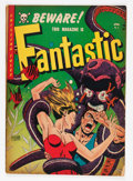 Golden Age (1938-1955):Horror, Fantastic #9 (Youthful Magazines, 1952) Condition: VG-....
