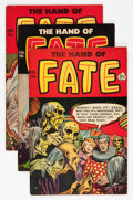 Golden Age (1938-1955):Horror, The Hand of Fate #13 and 15-19 Group (Ace, 1952-53).... (Total: 6Comic Books)