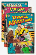 Golden Age (1938-1955):Science Fiction, Strange Adventures Group (DC, 1953) Condition: Average FN....(Total: 6 Comic Books)